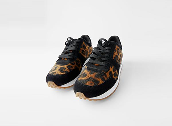 pantofi sport animal rpint Zara
