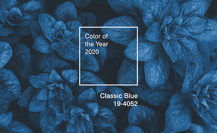 Classic Blue: the color of 2020
