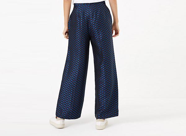 pantaloni imprimati Marks&Spencer