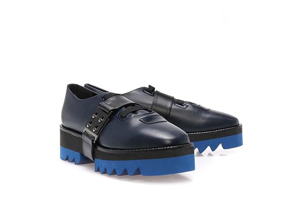 pantofi cu talpa colorata Il Passo