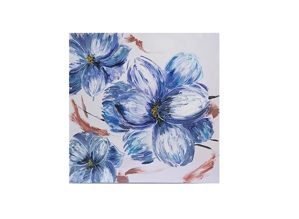 tablou cu flori albastre Meli Melo