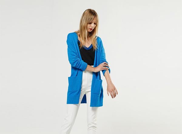 cardigan albastru BSB