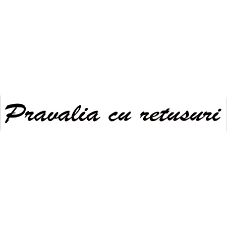 Logo Pravalia cu Retusuri