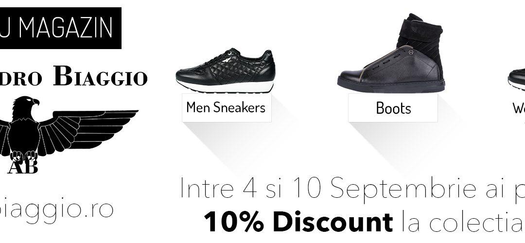 Alessandro Biaggio – oferta deschidere magazin