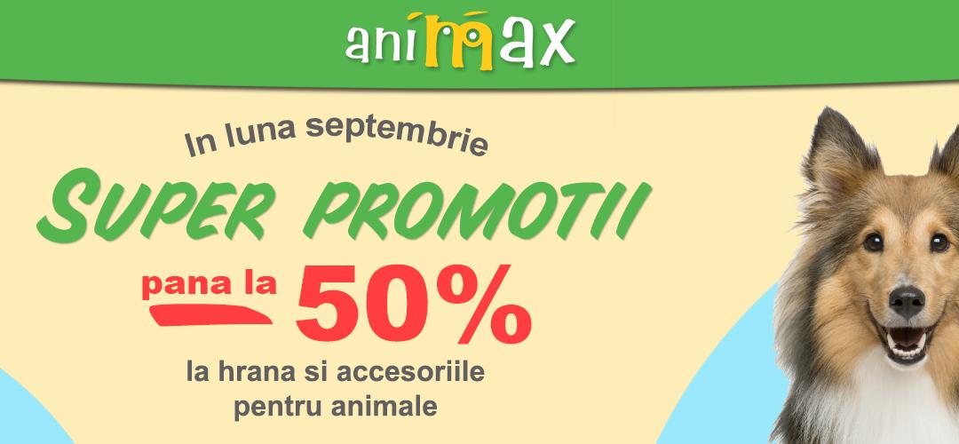 Super Promotii la deschiderea Animax!