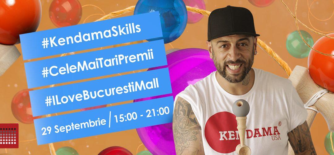 Kendama skills la Bucuresti Mall