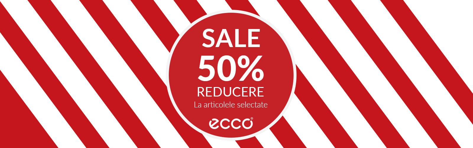 63c1396d 50% off on selected ECCO articles - București Mall | #ILoveBucurestiMall